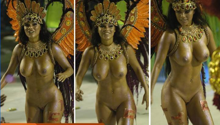 Голые карнавал рио